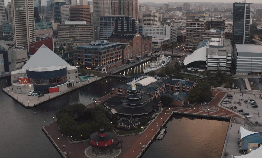 Baltimore-Aerial-Drone-Demo