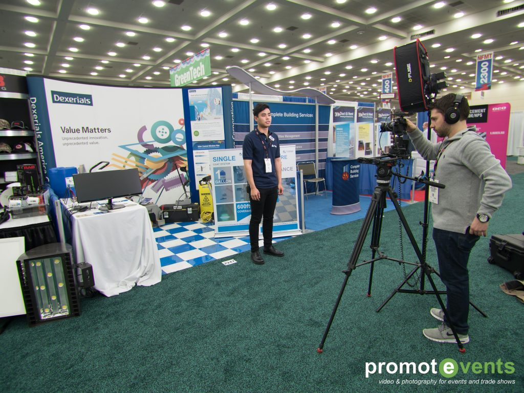 Exhibitor Interviews Videography Services